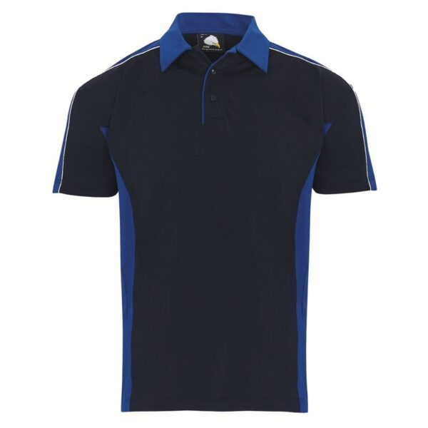avocet two tone poly polo