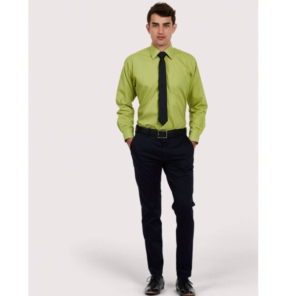 Mens Poplin Full Sleeve Shirt