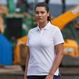 womens work polo